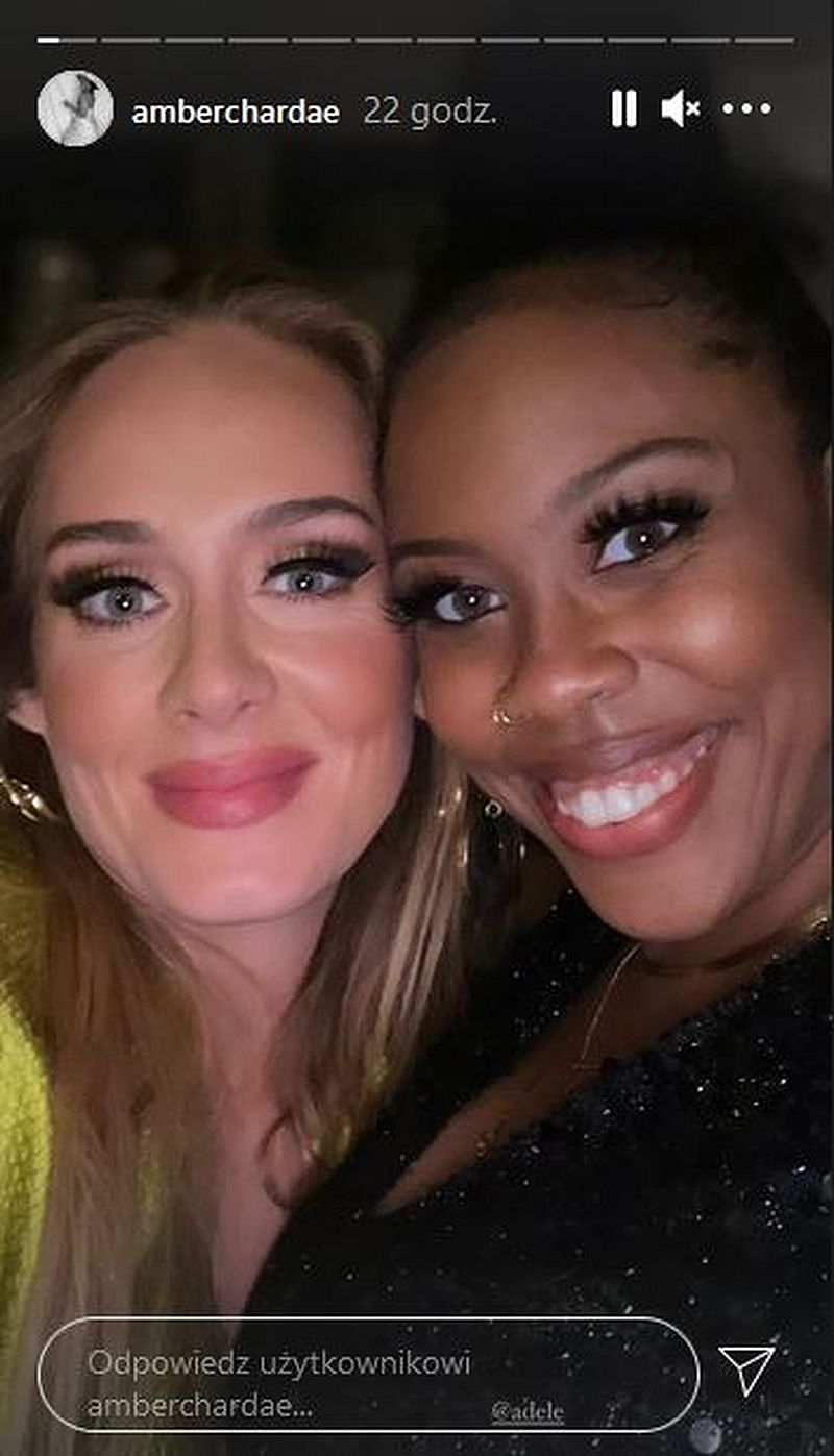 Adele na after party