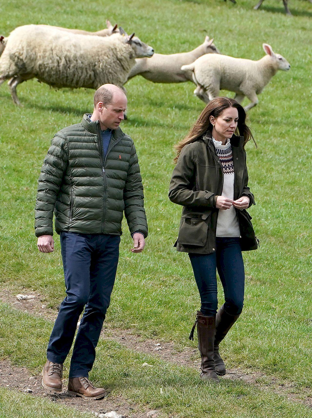 Kate i William na farmie