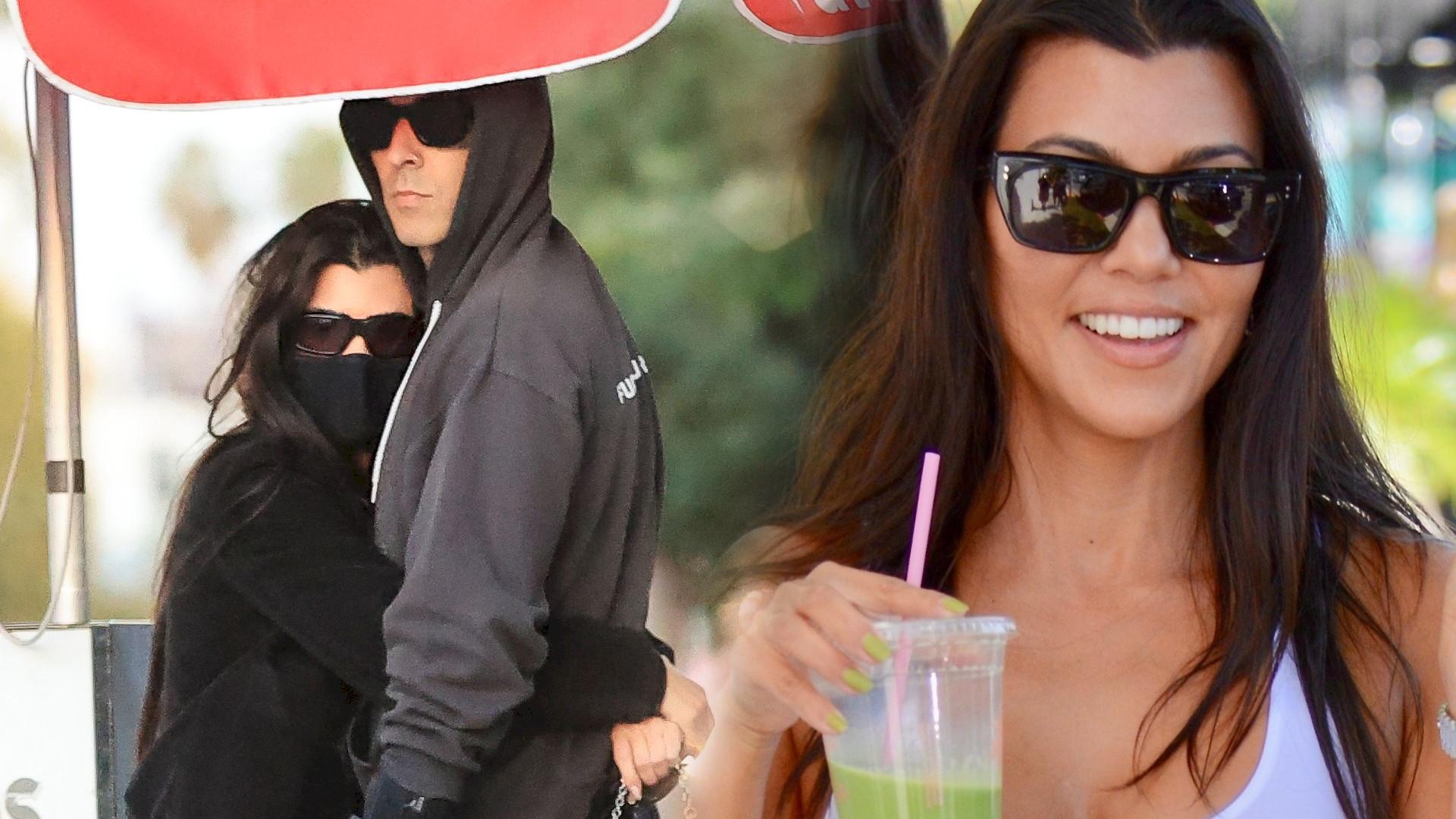 Kourtney Kardashian chyba NIGDY nie była tak zakochana. Nowe zdjęcie z Travisem bije rekordy popularności