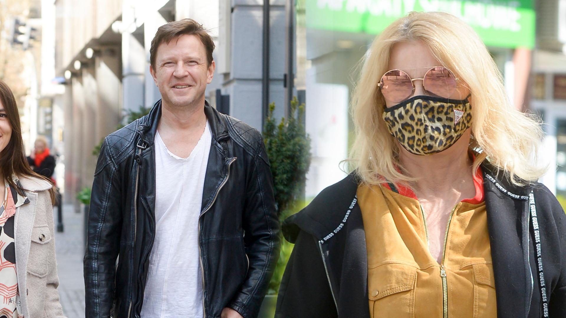 Gwiazdy DD TVN: Wojciech Błach z piękną żoną i Majka Jeżowska w modnych butach (ZDJĘCIA)