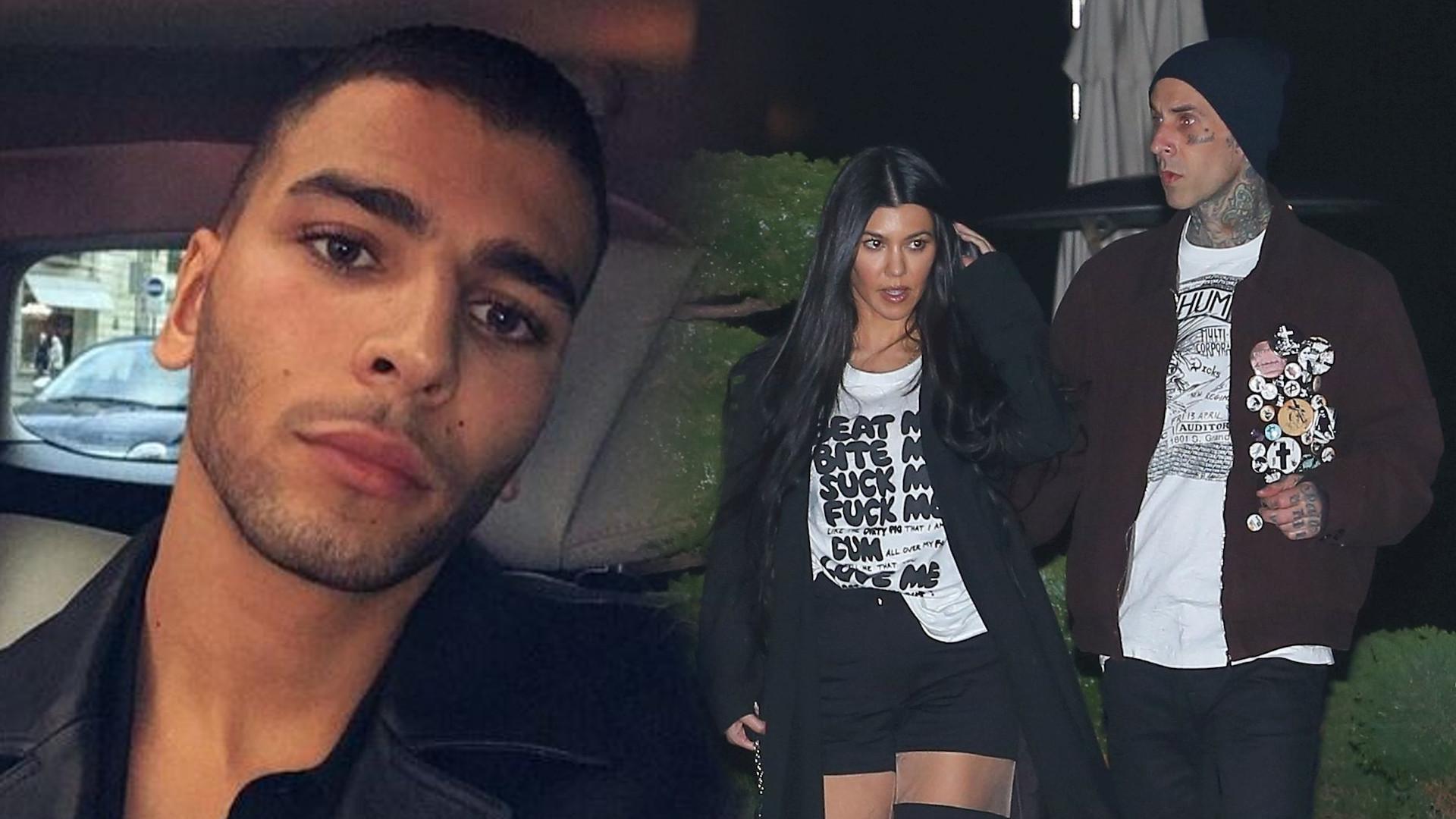 Younes Bendjima nie wytrzymał – DOPIEKŁ Kourtney Kardashian swoim wpisem