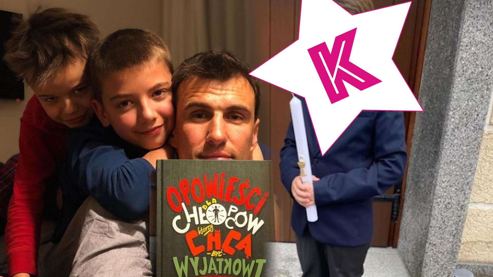 Jarosław Beniuk pokazał najmłodszego syna. Ale z niego przystojniak