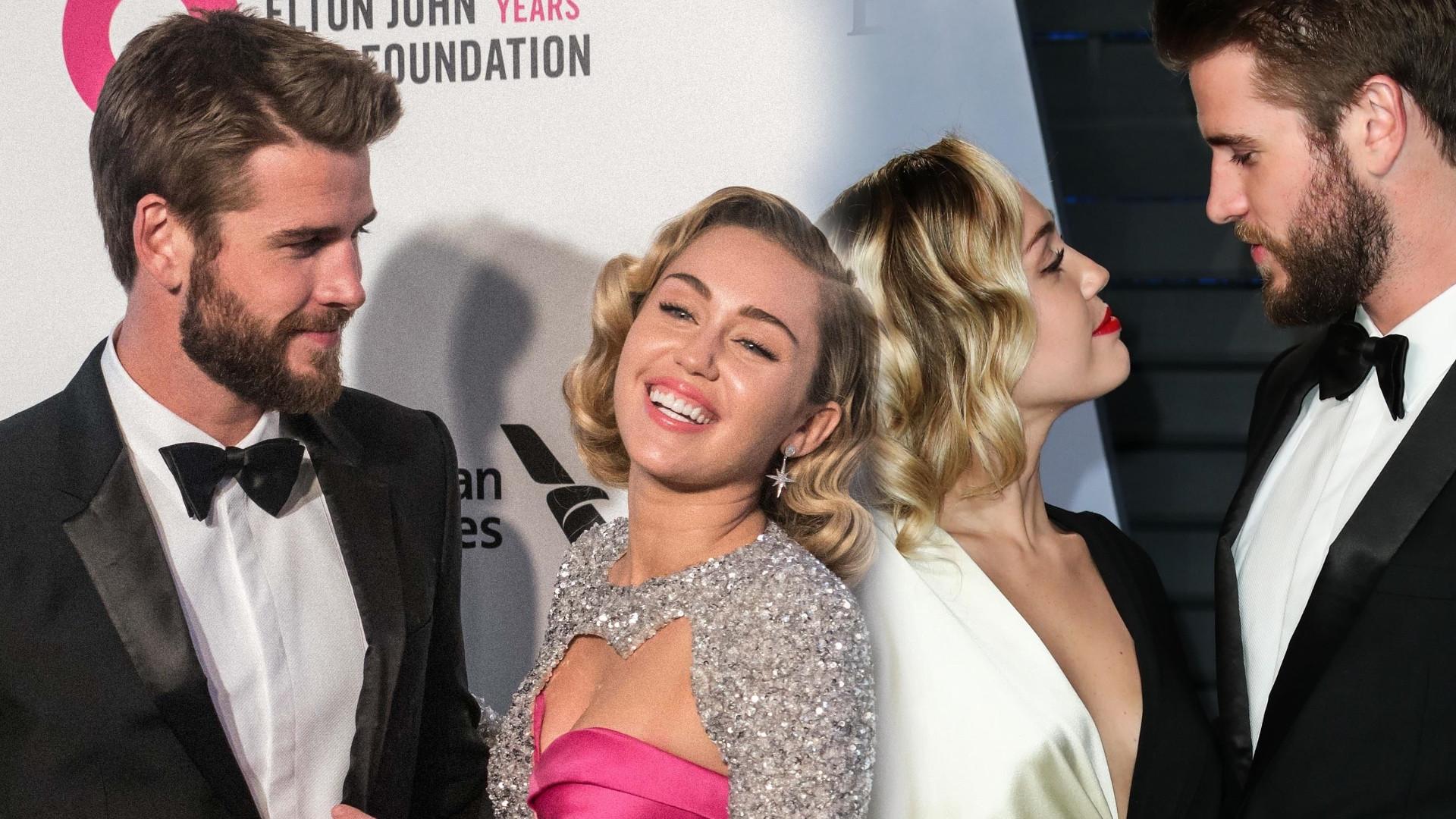 W sieci pojawiło się nagranie, na którym widać jak Liam Hemsworth jest ZAŻENOWANY zachowaniem Miley Cyrus