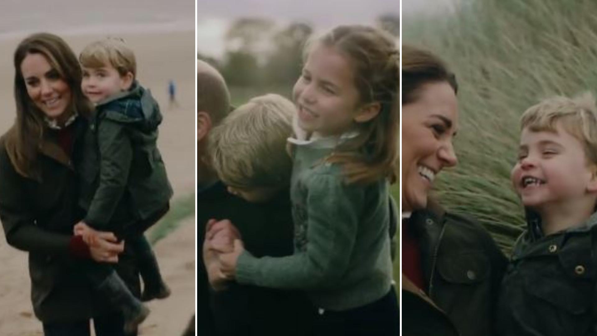 """William i Kate pokazali nagranie ze wszystkimi dziećmi: """"Jesteście taką NORMALNĄ rodziną"""""""