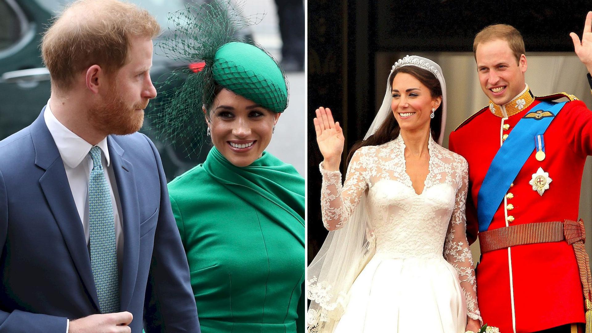 Meghan i Harry uczcili 10. rocznicę ślubu Kate i Williama! Co zrobili?