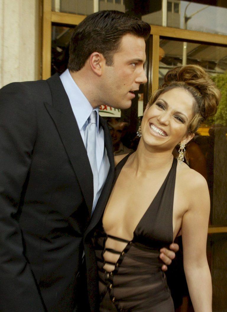 Jennifer Lopez i Ben Affleck, gdy byli parą