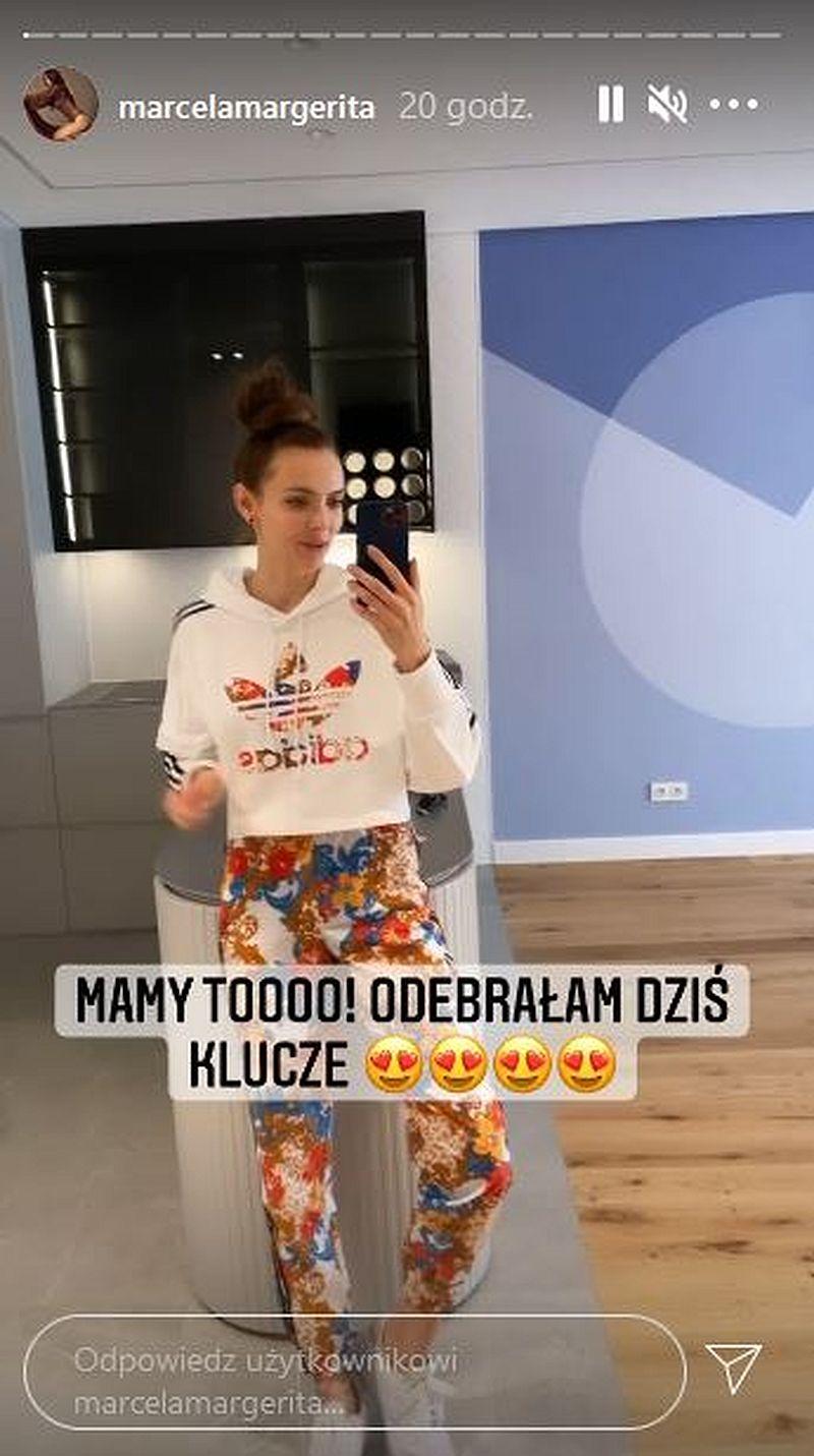 Marcela Leszczak kupiła mieszkanie