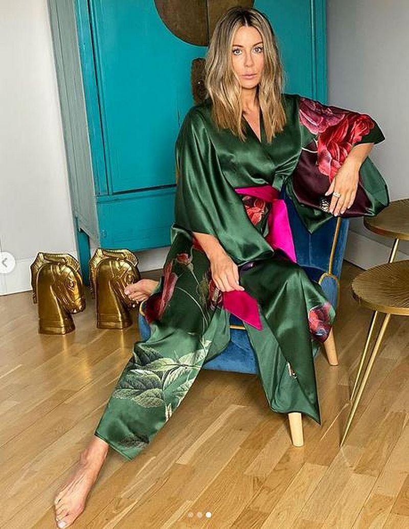 Małgorzata Rozenek w kimonie