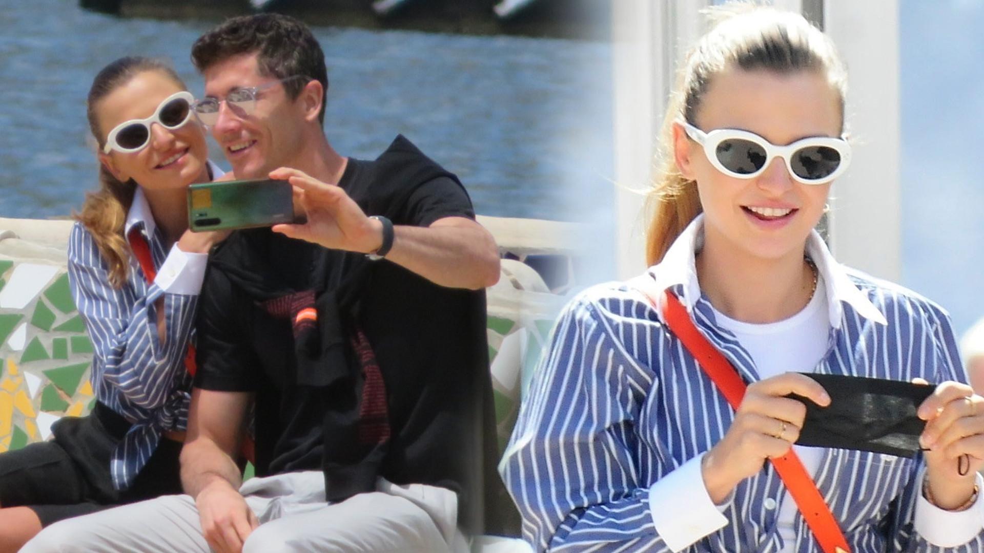 Anna i Robert Lewandowscy na Majorce. Wybrali się na romantyczny spacer (ZDJĘCIA)