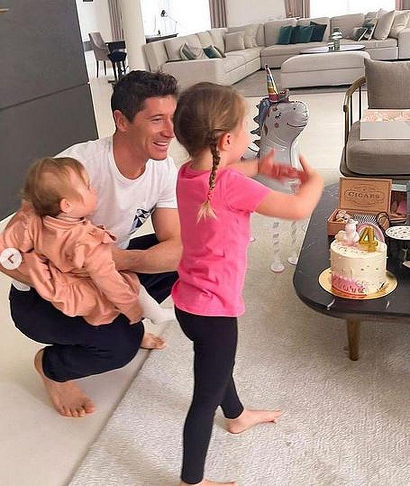 Urodziny Klary Lewandowskiej fot. Instagram