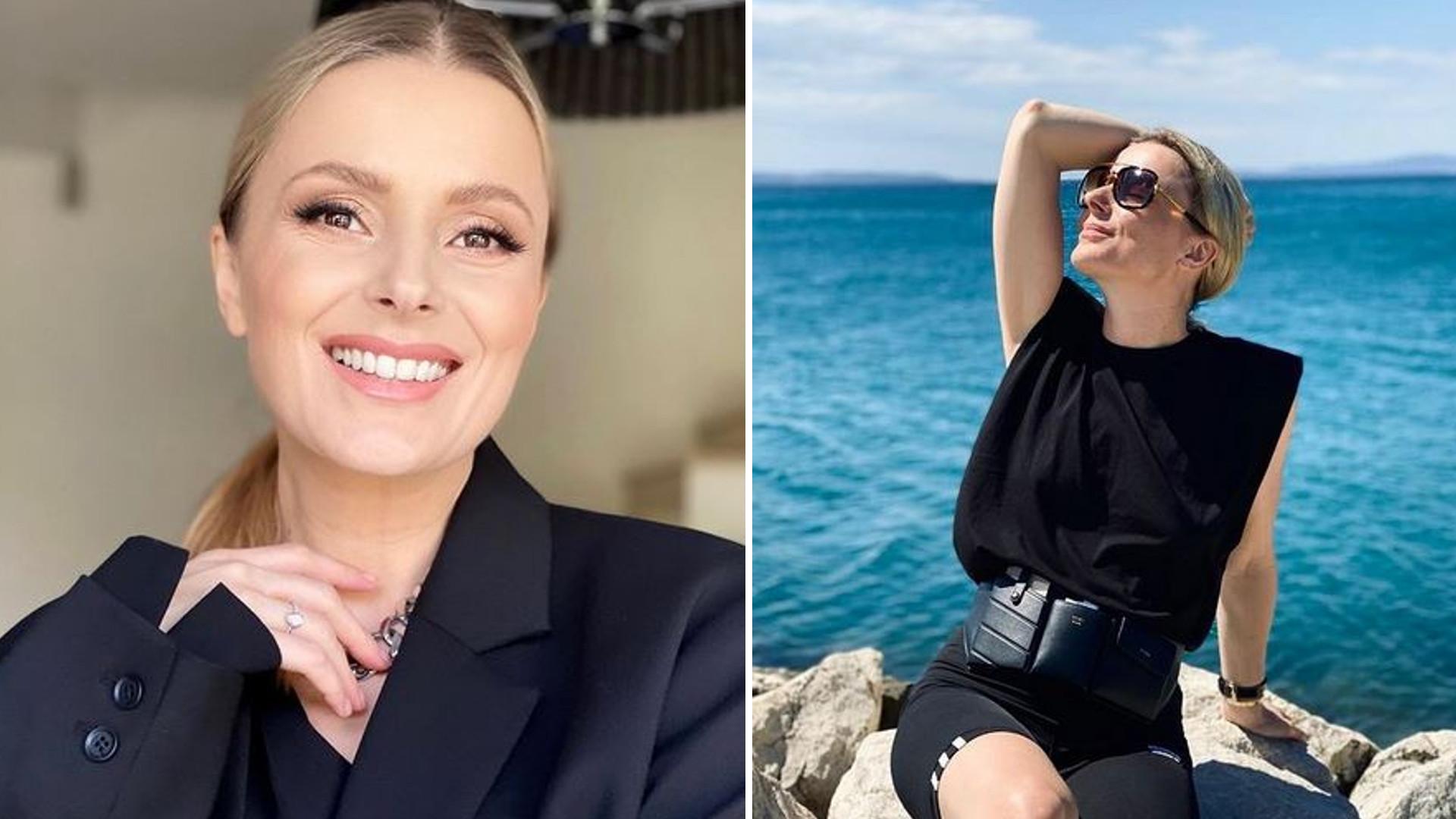 """Halina Mlynkova jest w ciąży w wieku 43 lat: """"Było już za późno, bo to nie ten wiek"""""""