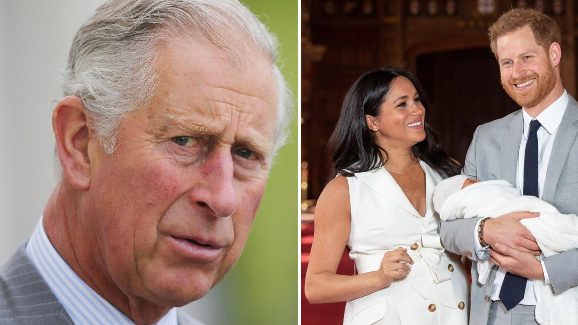 Książę Karol dodał zdjęcie z Archiem z okazji jego urodzin. Pod postem BURZA