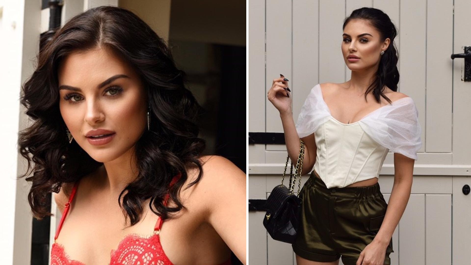 Iza Motyl, polska fotomodelka, pojawiła się w czeskim oraz słowackim Playboyu