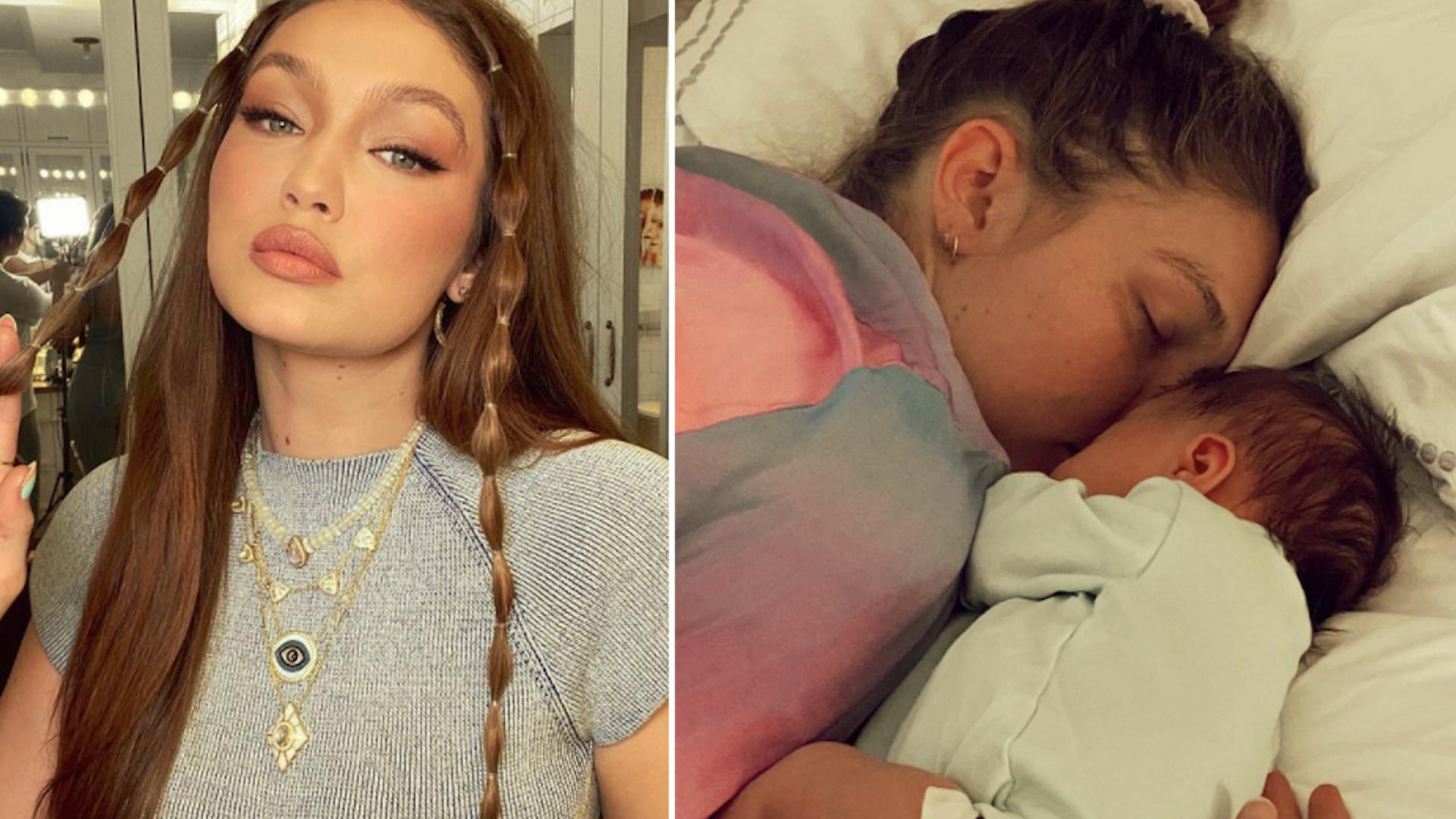 Gigi Hadid świętuje po raz pierwszy DZIEŃ MATKI. Pokazała nowe zdjęcia córeczki