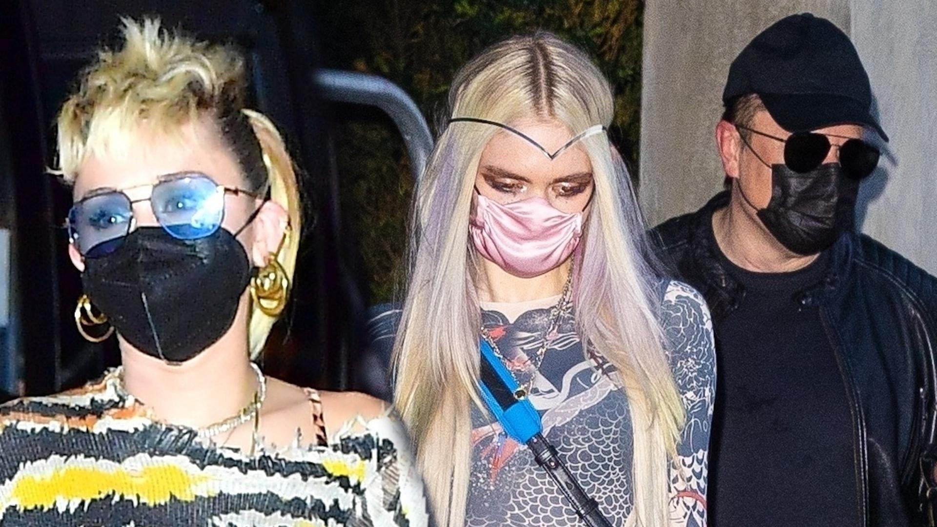 Miley Cyrusi Elon Musk wychodzą razem z klubu o 6 nad ranem (ZDJĘCIA)