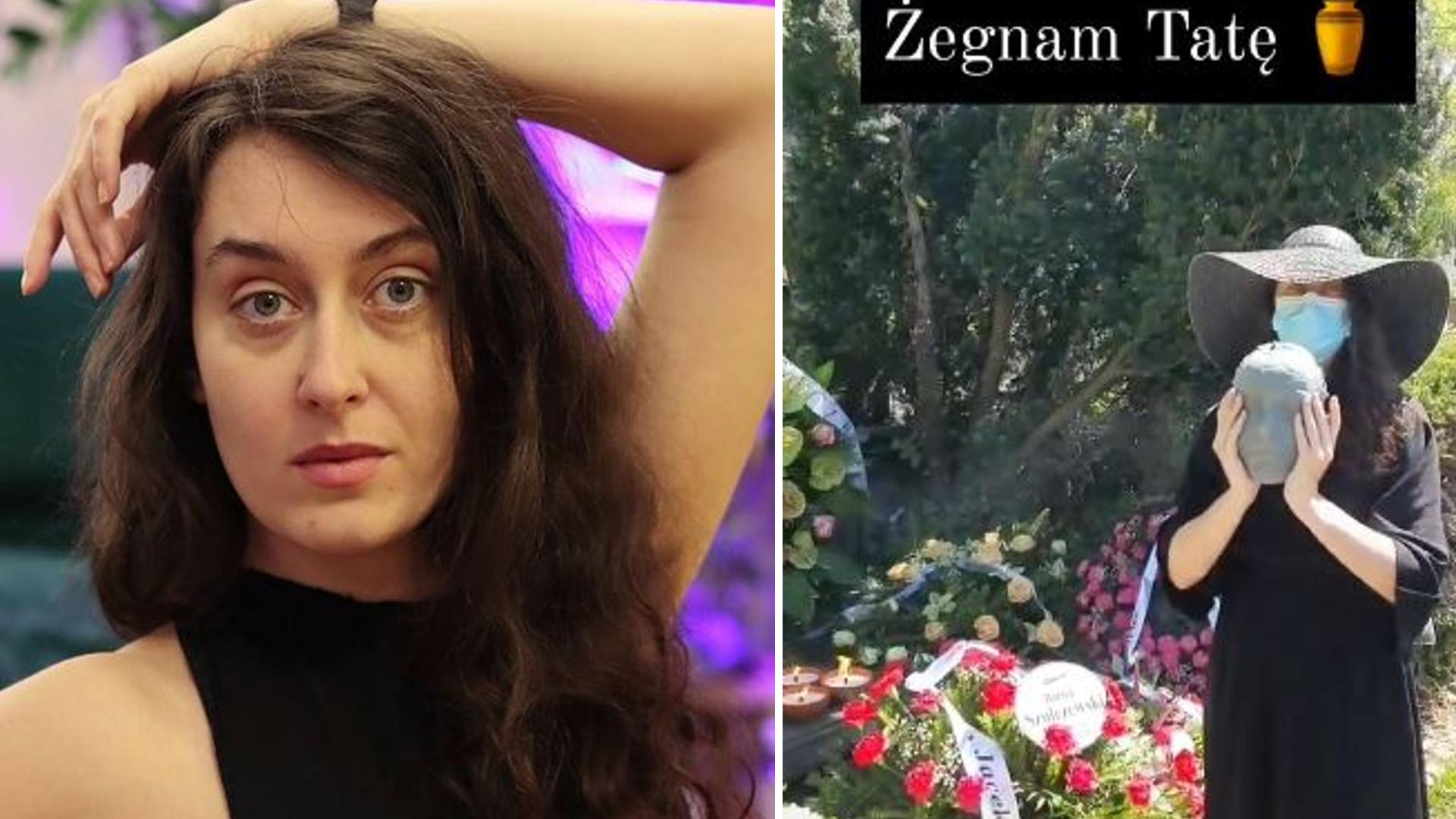 Influencerka relacjonowała w sieci pogrzeb ojca i zareklamowała rajstopy. Odniosła się do krytyki