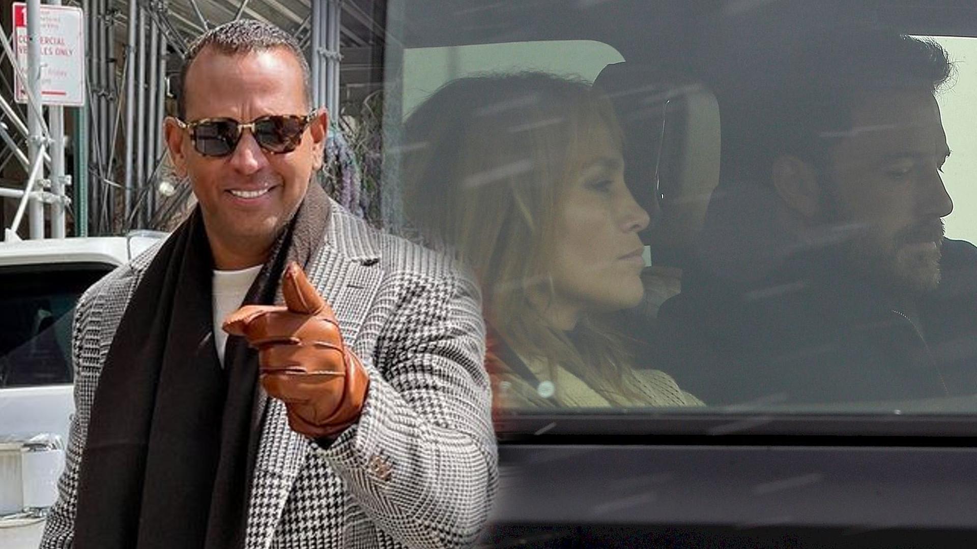 """Wyszło na jaw, co Alex Rodriguez naprawdę myśli o Jennifer i Benie: """"Weszła w potencjalny związek tak szybko…"""""""