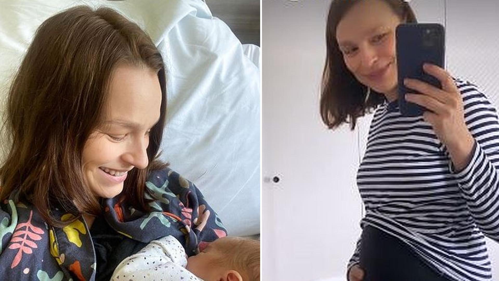 """Anna Starmach pokazuje brzuch kilka dni po porodzie: """"Brzuszek NIE ZNIKA od razu"""""""