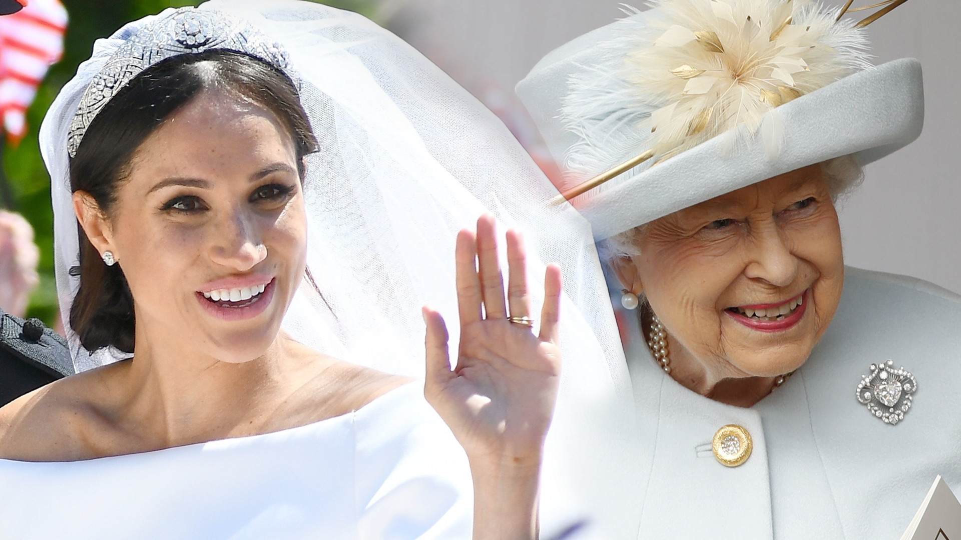 Dopiero po TRZECH latach wyszło na jaw, jak królowa zareagowała na suknię ślubną Meghan Markle