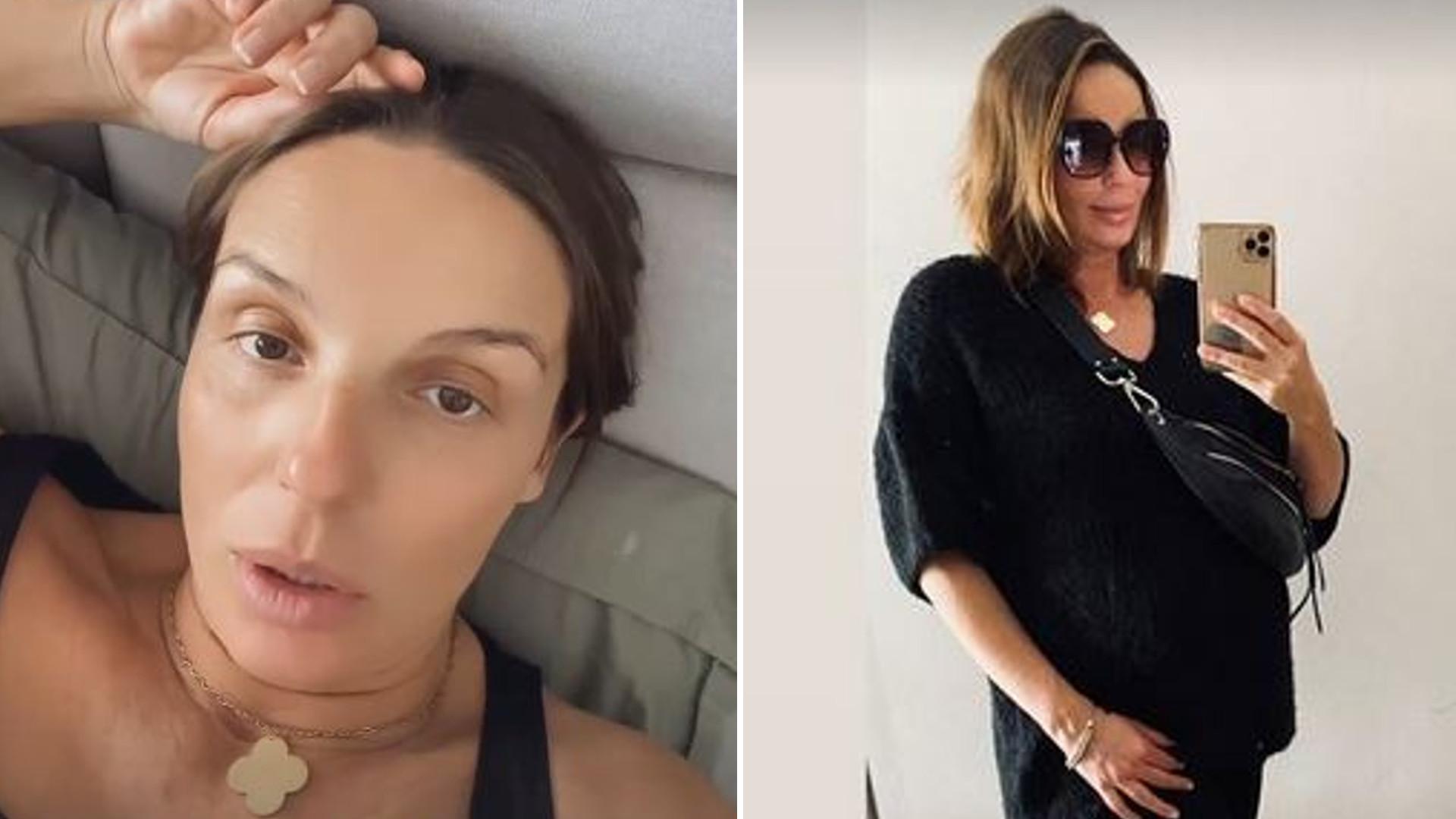 Agnieszka Włodarczyk pokazała, jak w ciąży SPUCHŁY jej kostki