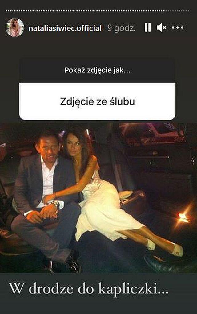 Natalia Siwiec pokazała zdjęcie ze ślubu z Mariuszem