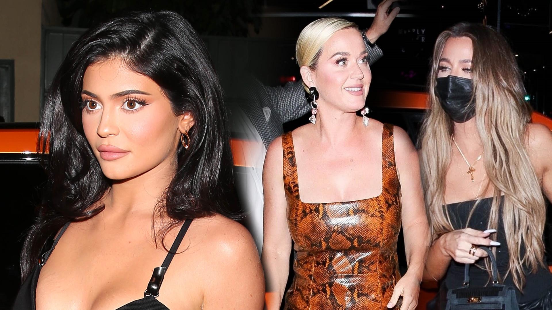 Kardashianki, Hailey Bieber i Katy Perry na imprezie promującej tequilę Kendall Jenner (ZDJĘCIA)