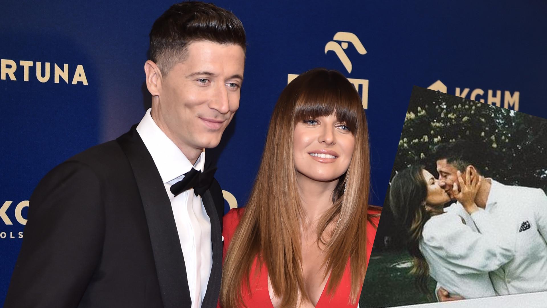 """Anna Lewandowska pokazała zdjęcia z romantycznej sesji z Robertem: """"Dzięki Wam wierzę w miłość"""""""