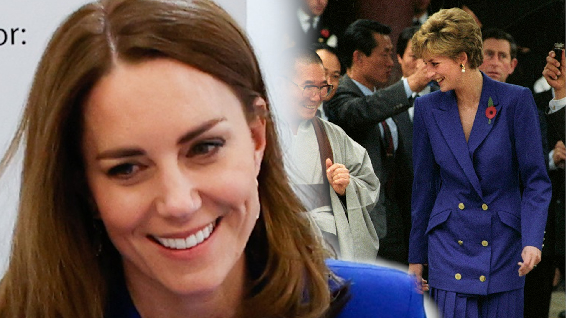 Księżna Kate jak księżna Diana. To niemal replika