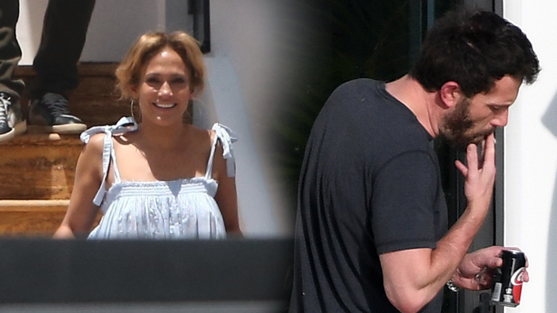 OMG! Szczęśliwa Jennifer Lopez sfotografowana z Benem Affleckiem w Miami (ZDJĘCIA)