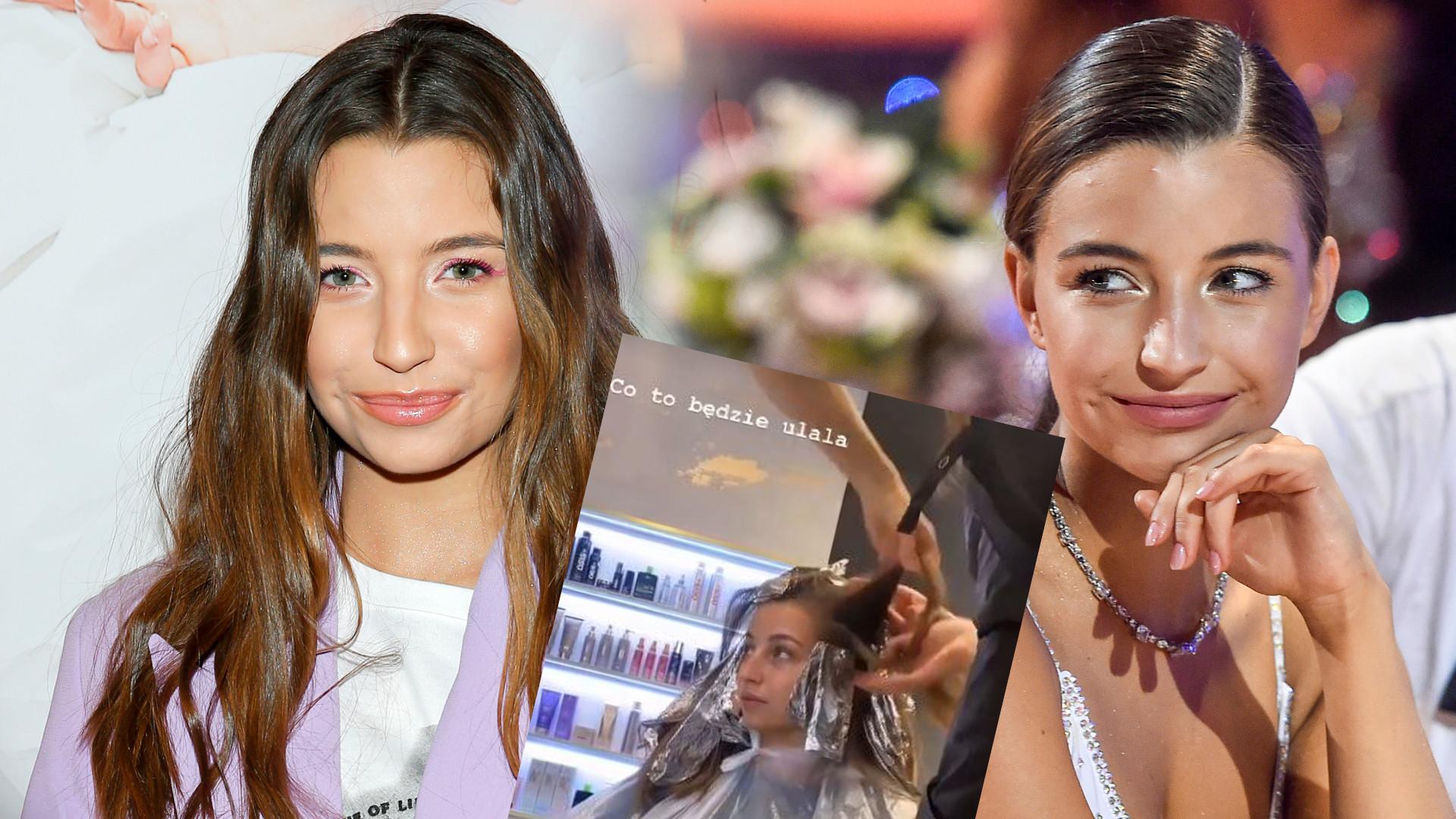 """Julia Wieniawa zmieniła fryzurę! Pokazała efekty metamorfozy: """"Najjaśniejsze, jakie miałam"""""""