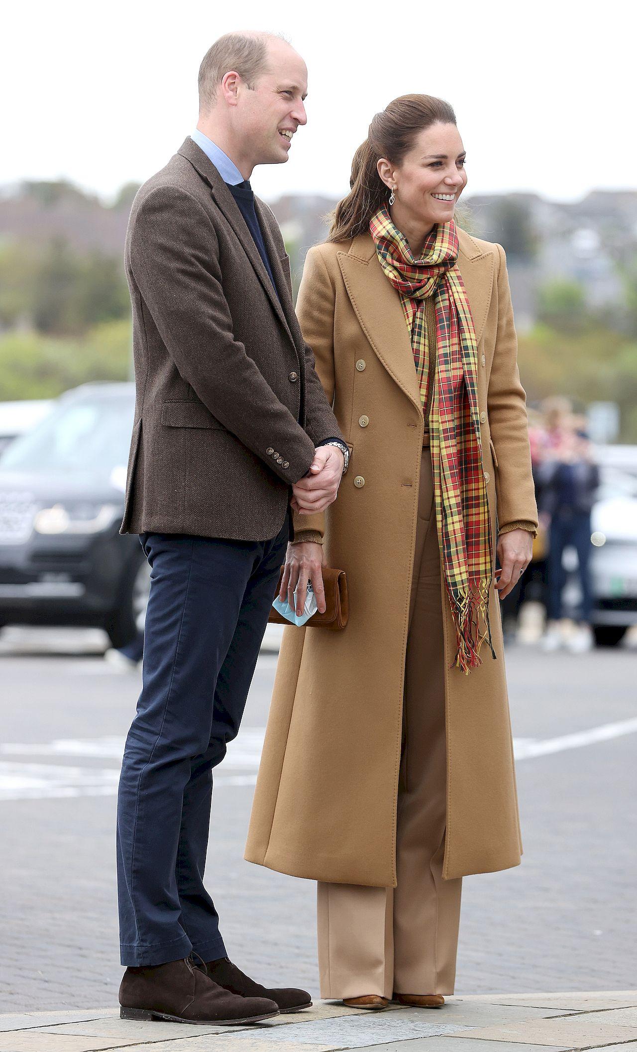 Kate i William w Szkocji