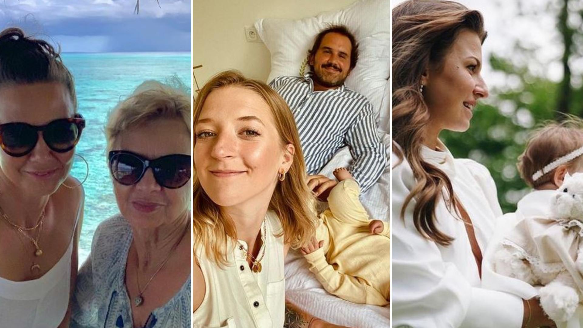 Gwiazdy świętują Dzień Matki: Anna Mucha pokazała zdjęcie z brzuszkiem, Lara Gessler testu ciążowego (ZDJĘCIA)