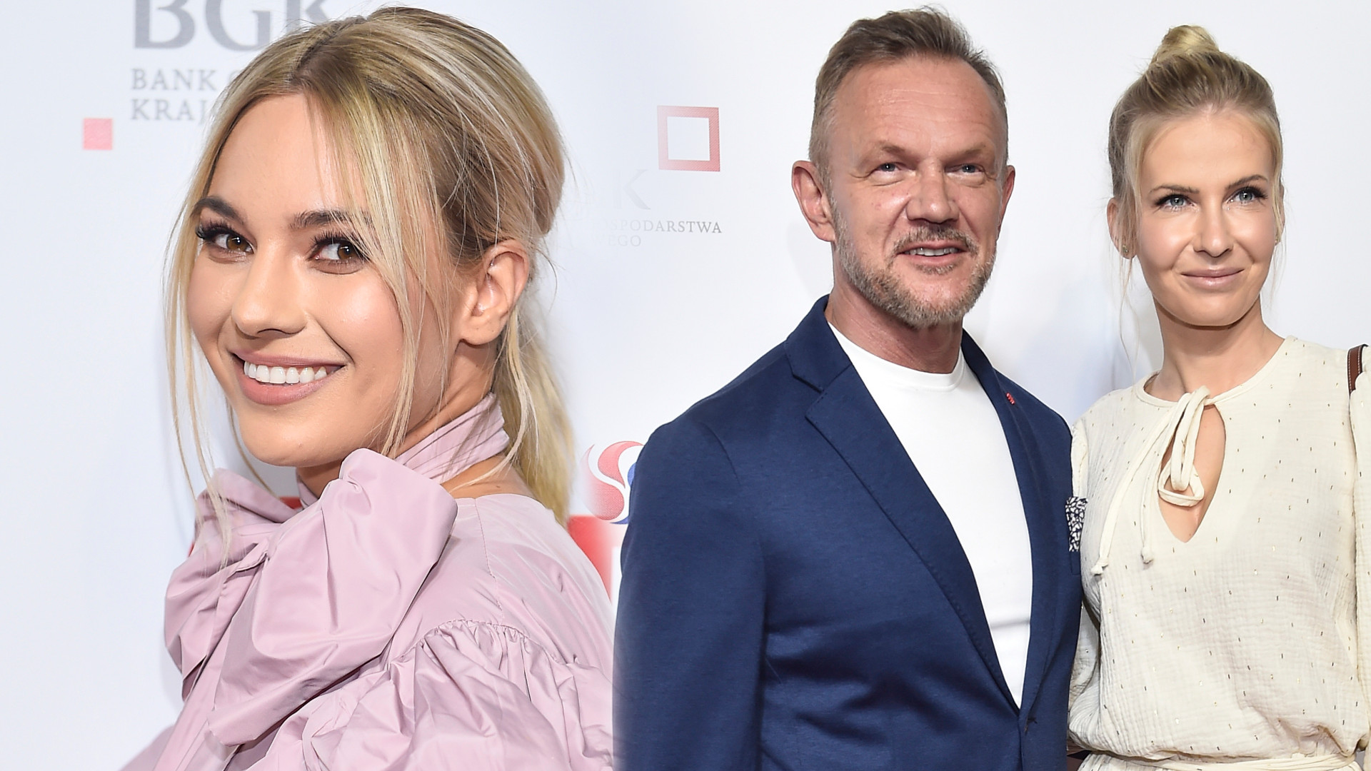 """Gwiazdy wracają na ścianki! Joanna Kuberska, Pazurowie i inni na premierze filmu """"Druga połowa"""" (ZDJĘCIA)"""