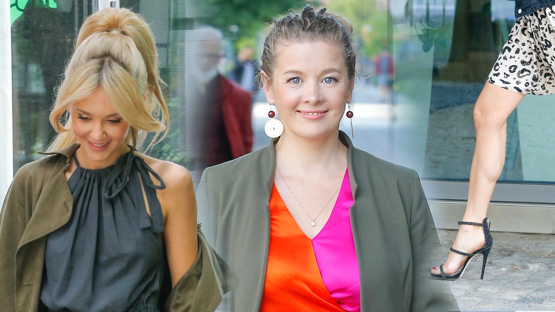 Gwiazdy DD TVN: Zachwycająca Kasia Moś, Anna Powierza w różowych szpilkach (ZDJĘCIA)