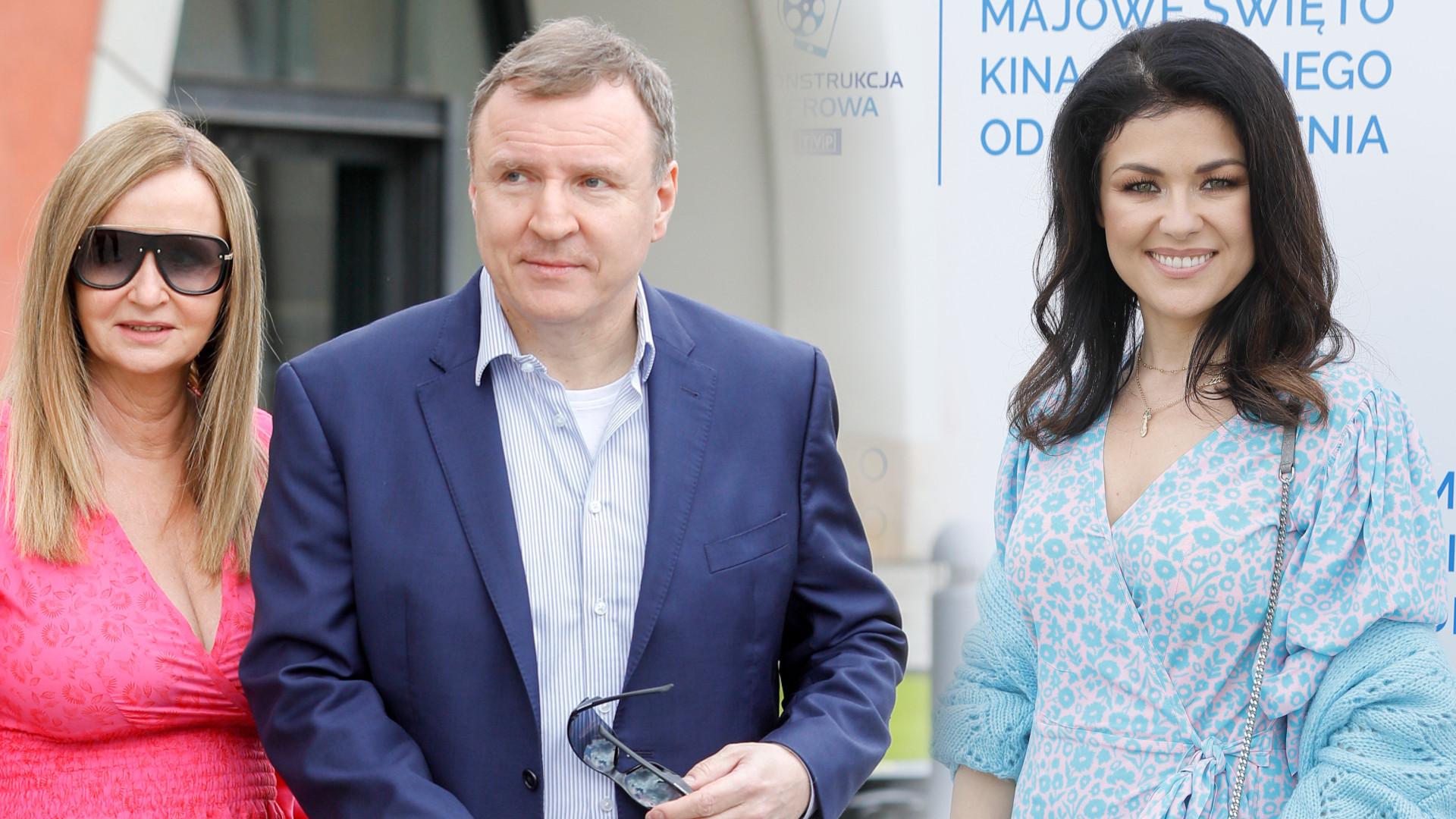 Gwiazdy na wydarzeniu TVP. Pojawił się Jacek Kurski z żoną Joanną i córką (ZDJĘCIA)