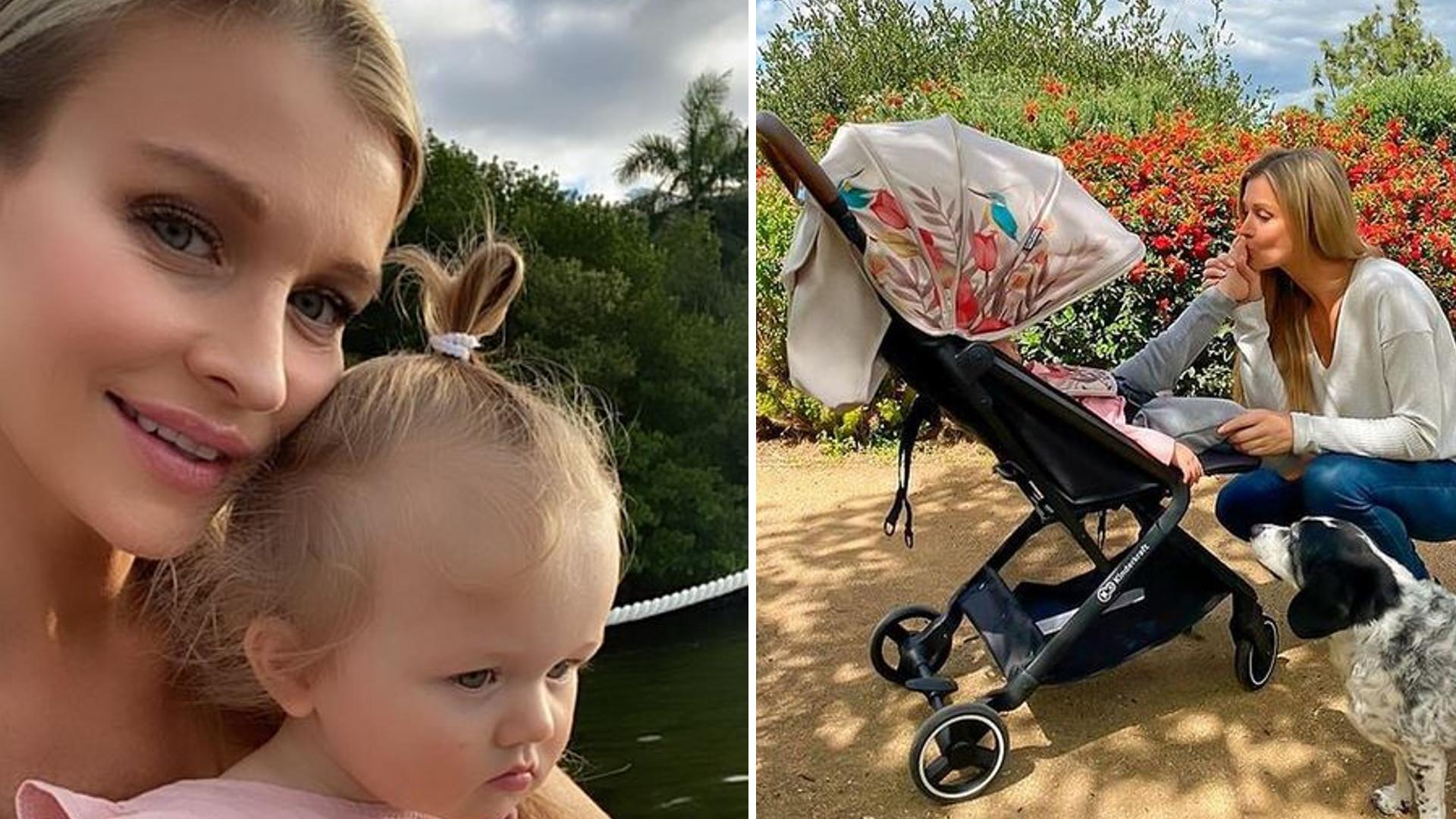 """Joanna Krupa pokazała nowe zdjęcia córki Ashy. Dziewczynka ma już długie włosy: """"Malutka Ty"""""""