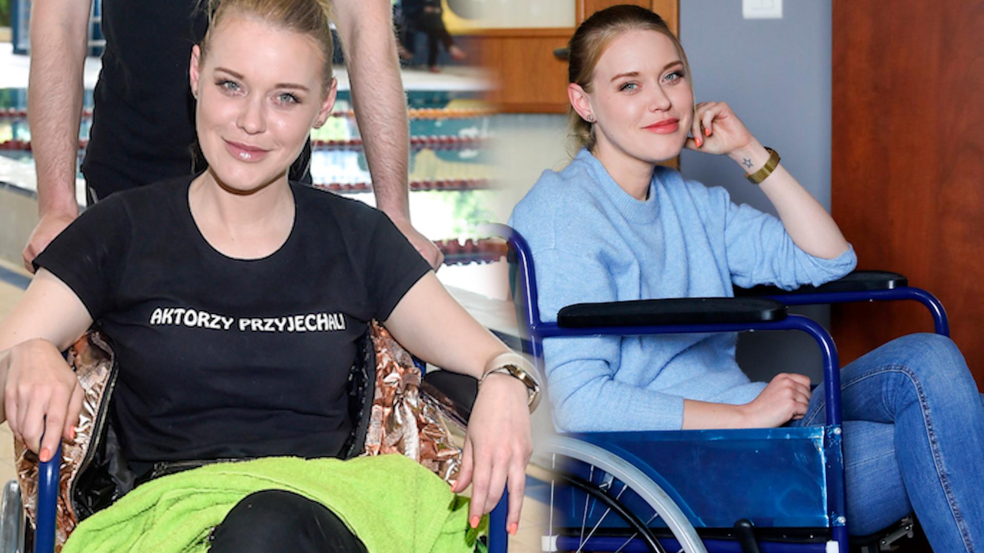 Ewelina Ruckgaber wylądowała na wózku inwalidzkim (ZDJĘCIA)