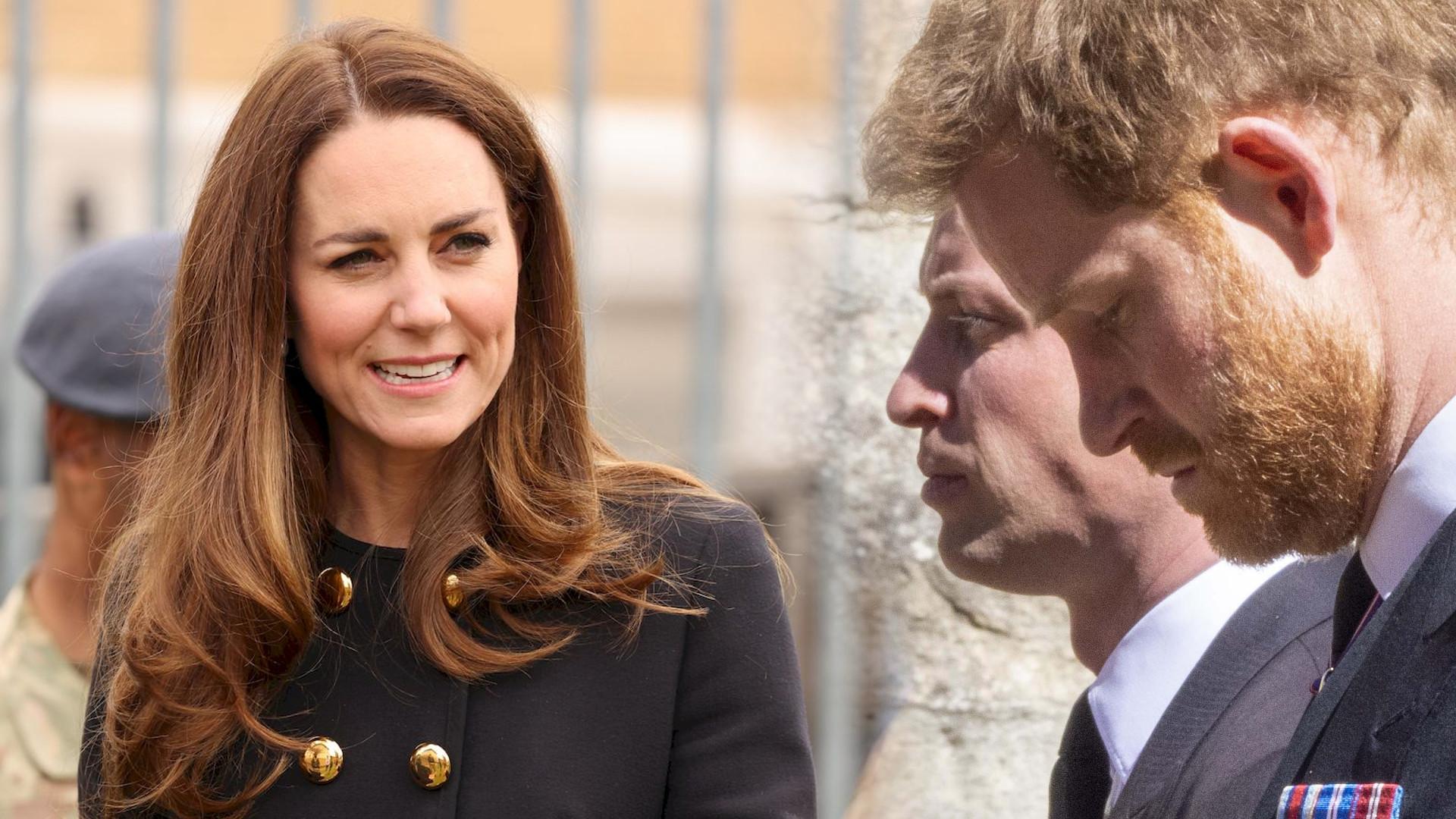 Osoba z rodziny Kate Middleton ujawniła, co księżna chciała zrobić w związku z kłótnią Williama i Harry'ego