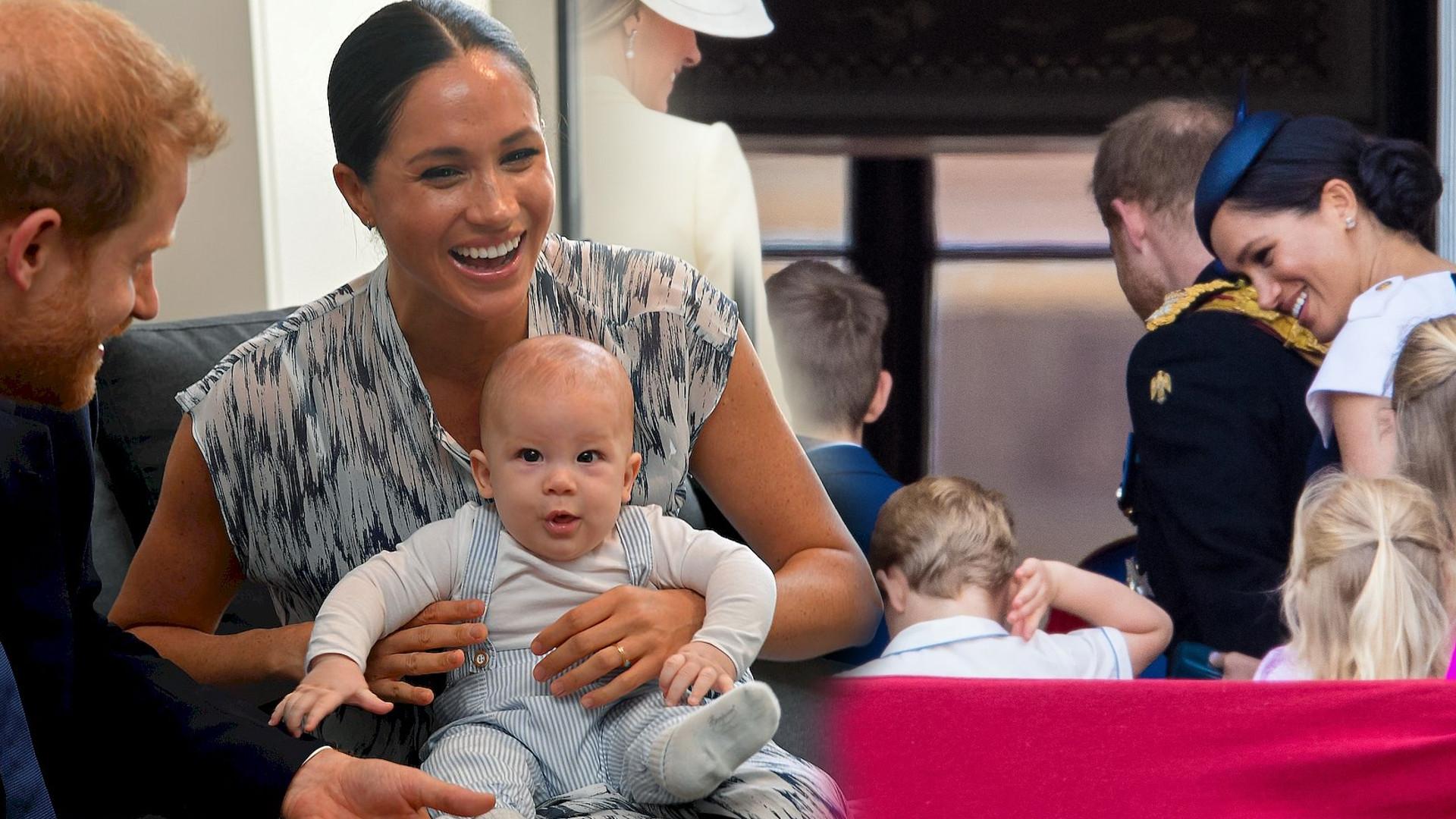 OMG! Meghan Markle i książę Harry wystąpią ze swoimi dziećmi podczas Trooping The Colour?