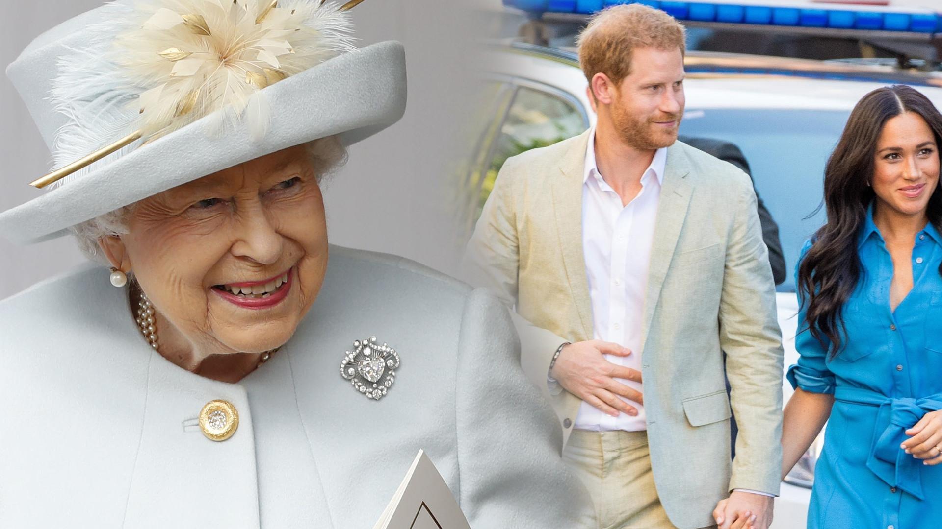Królowa Elżbieta i Cambridge'owie reagują na narodziny córeczki Meghan i Harry'ego