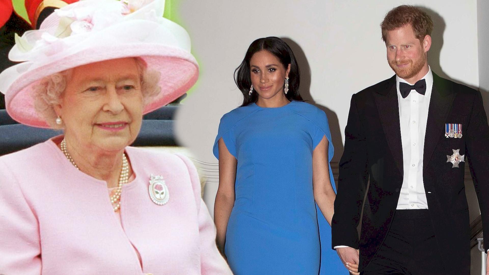 """Tak Królowa dowiedziała się o wnuczce. """"Oboje bardzo chcą, aby ich córka była częścią rodziny"""""""