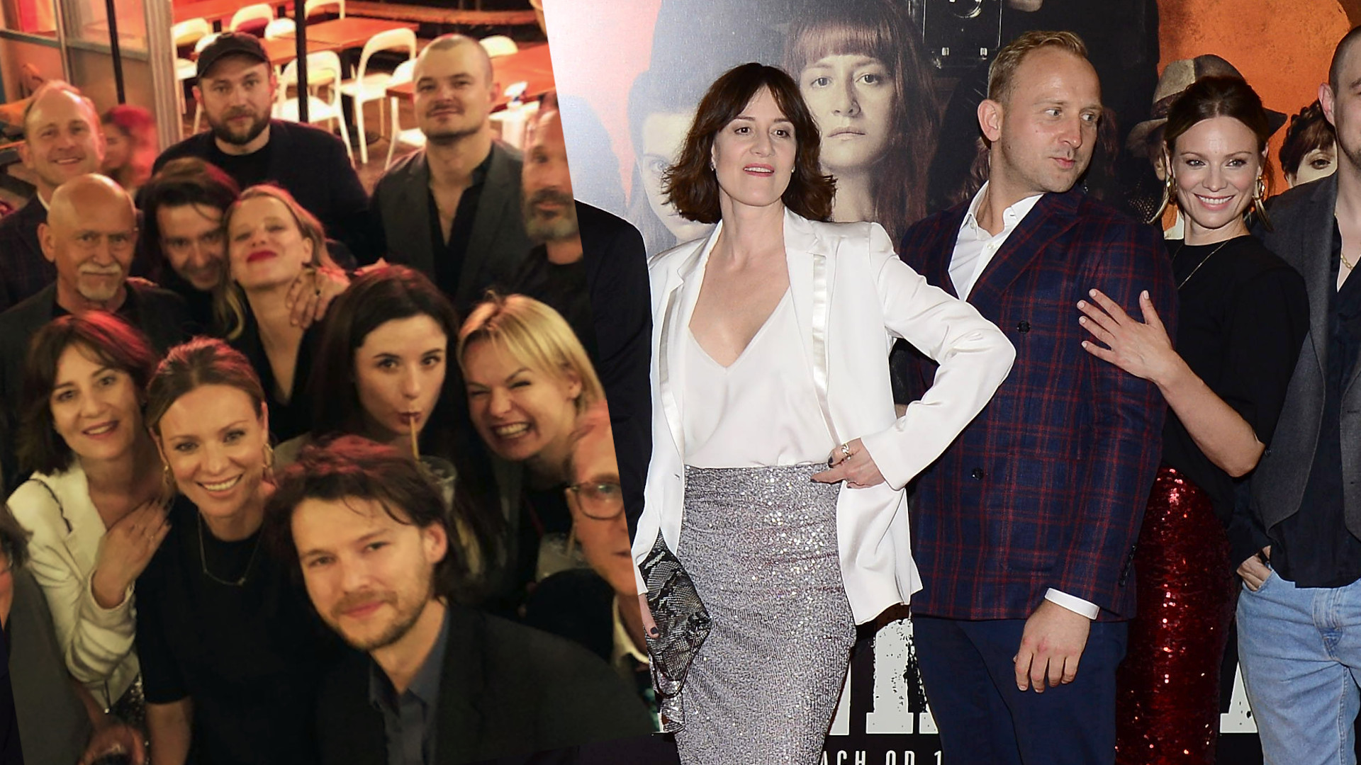 """Tak aktorzy bawili się na """"after party"""" po premierze filmu """"Magnezja"""""""