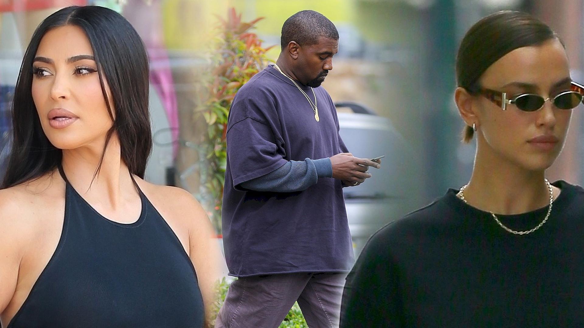 Tak zareagowała Kim Kardashian na romans Kanye Westa i Iriny Shayk