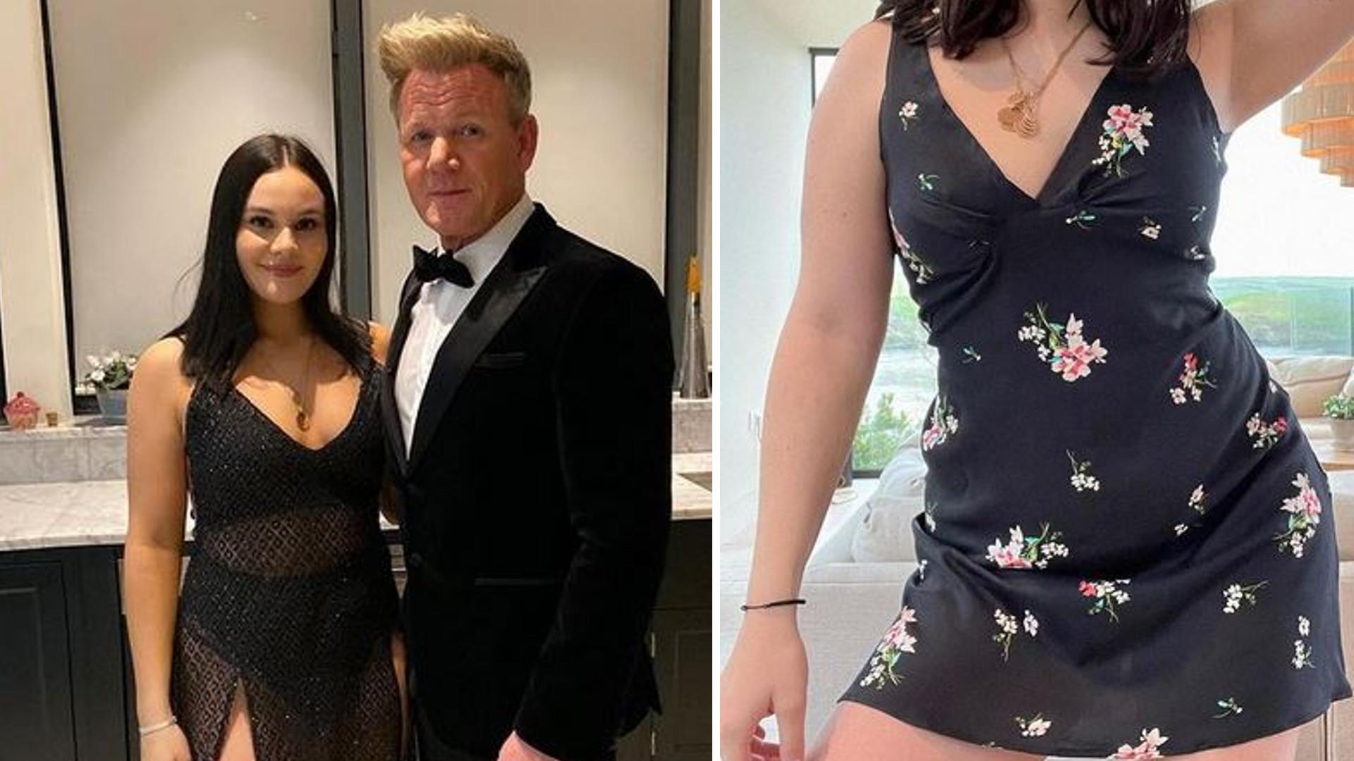 Córka Gordona Ramsay'a została modelką bielizny