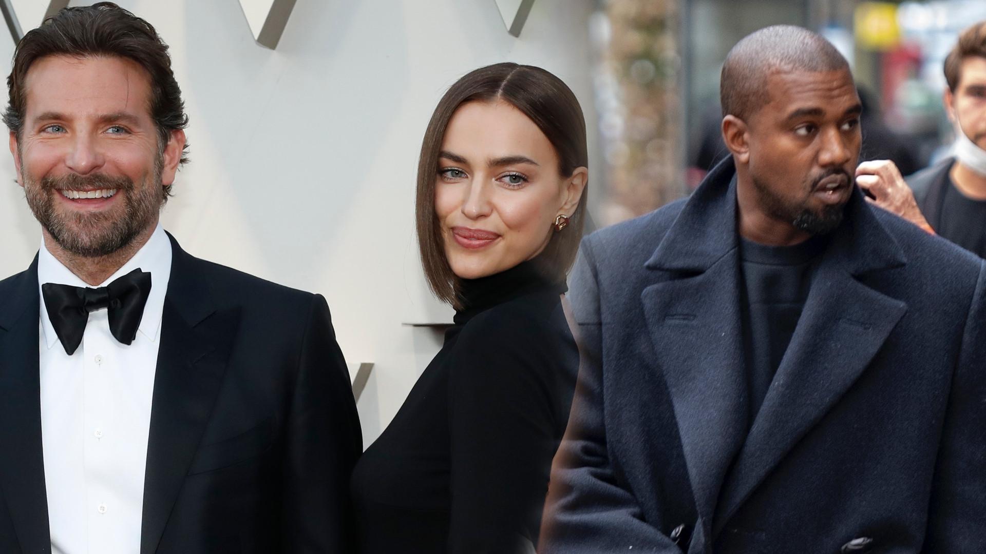 Jest reakcja Bradleya Coopera na związek Iriny z Kanye Westem