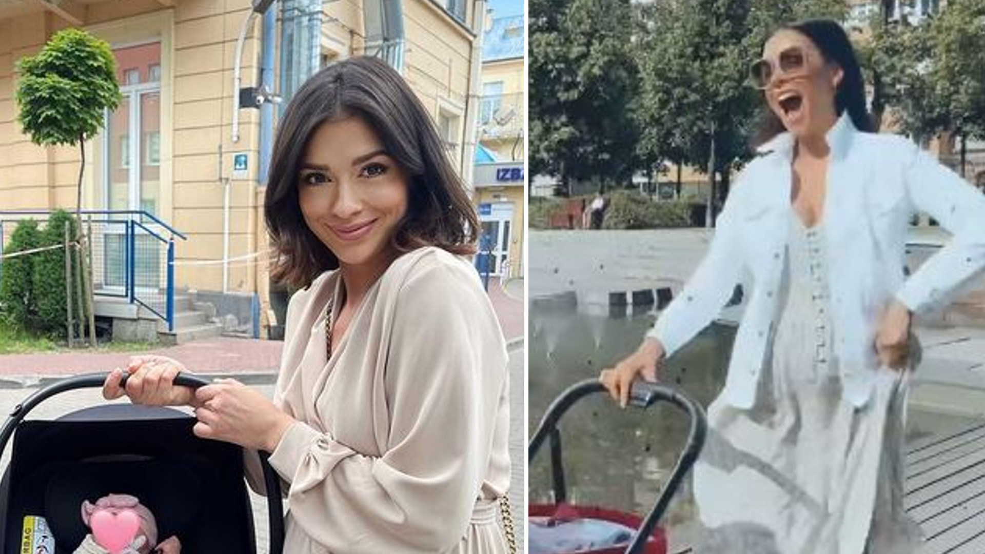 Klaudia Halejcio ma gwiazdorski wózek dla córki. Jego cena powala