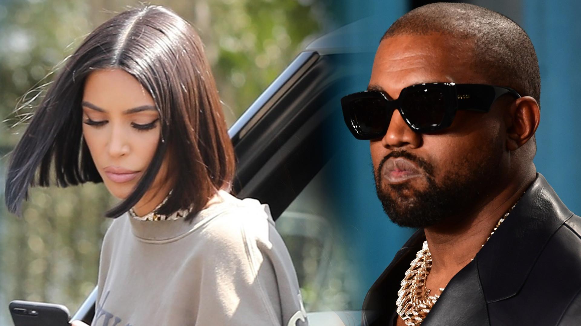 A jednak WOJNA?! Kanye West posunął się do TEGO wobec Kim