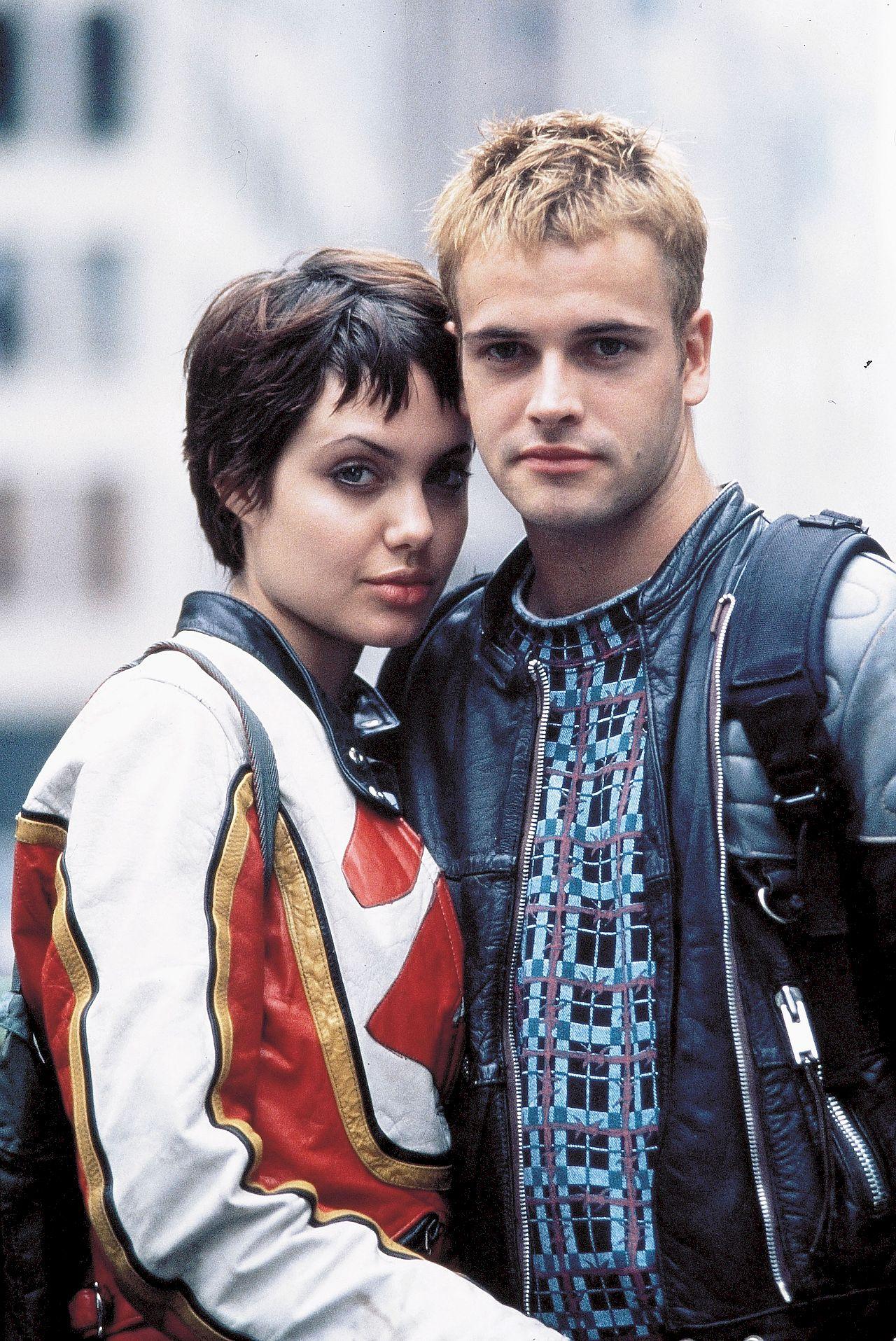 Angelina Jolie i Jonny Lee Miller