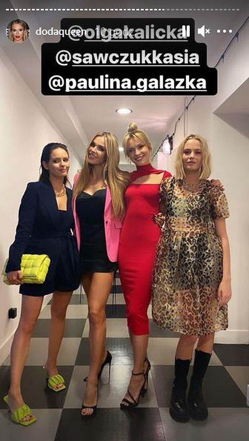 Olga Kalicka, Doda, Paulina Gałązka, Katarzyna Sawczuk