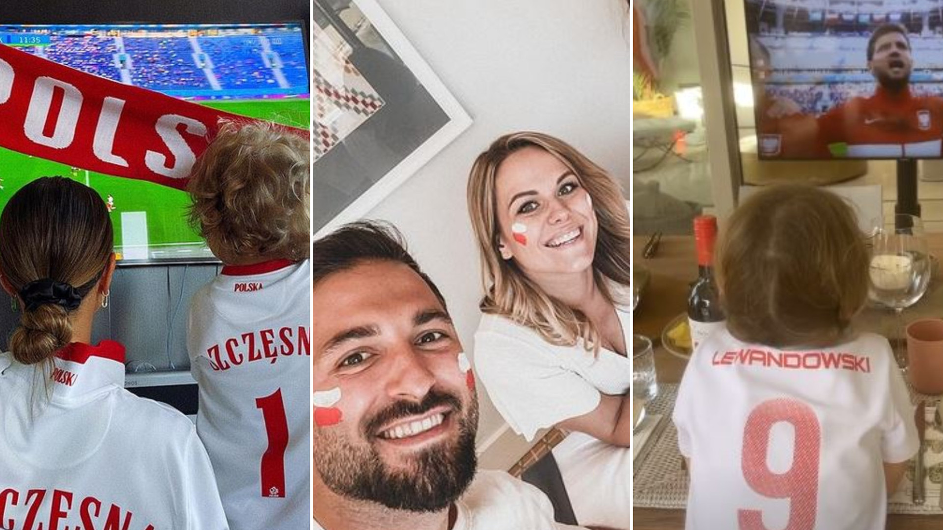 EURO 2020: Tak kibicowały gwiazdy Polsce podczas meczu ze Słowacją